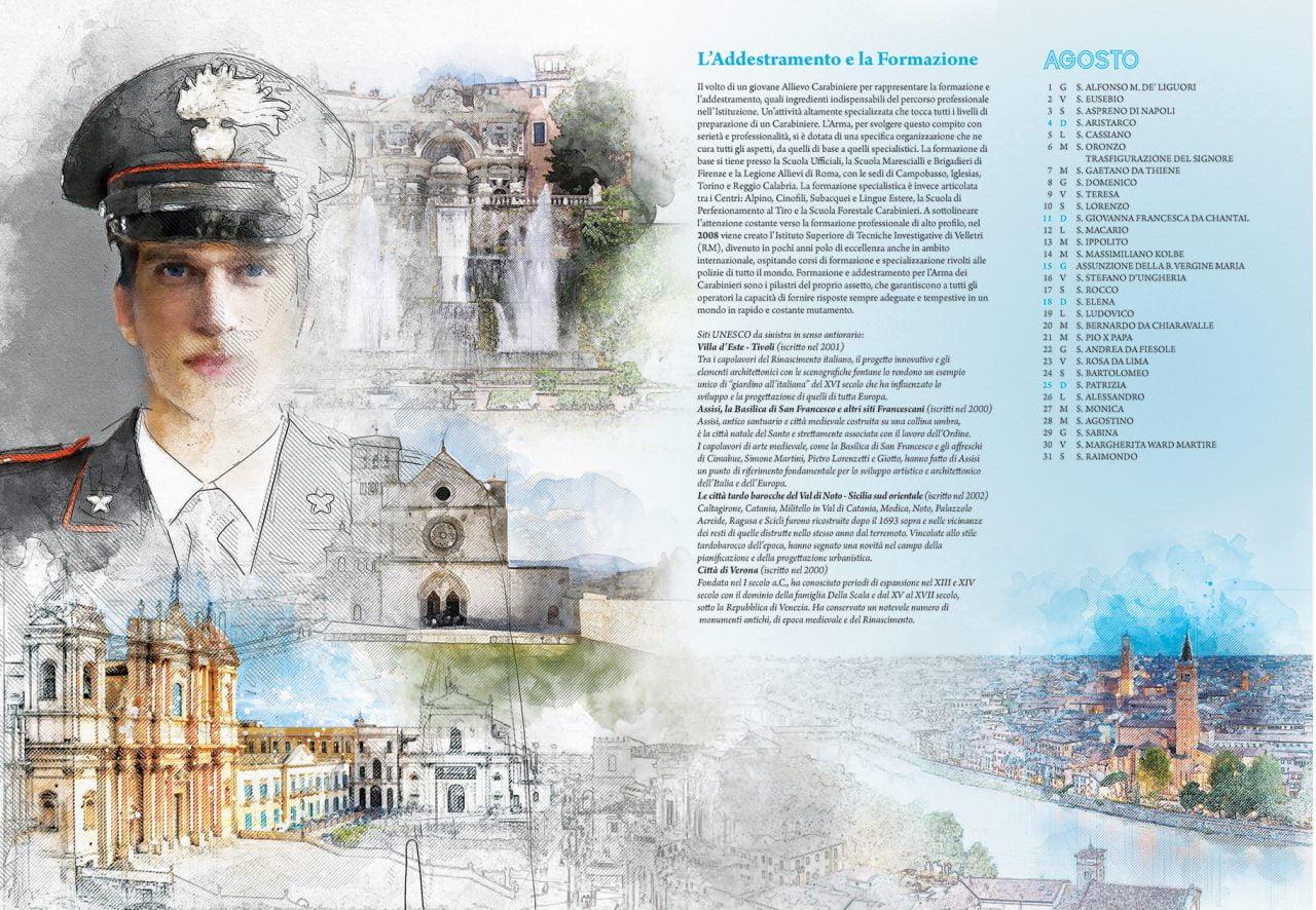Calendario Storico Carabinieri 2019.Calendario Storico Carabinieri 2019 Le Foto