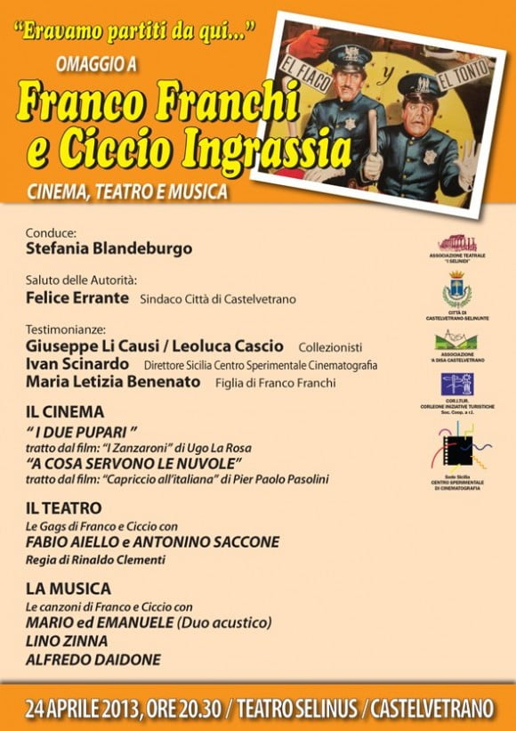 Franco Franchi Ciccio Ingrassia Castelvetrano