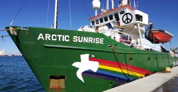 Arctic Sunrise trapani