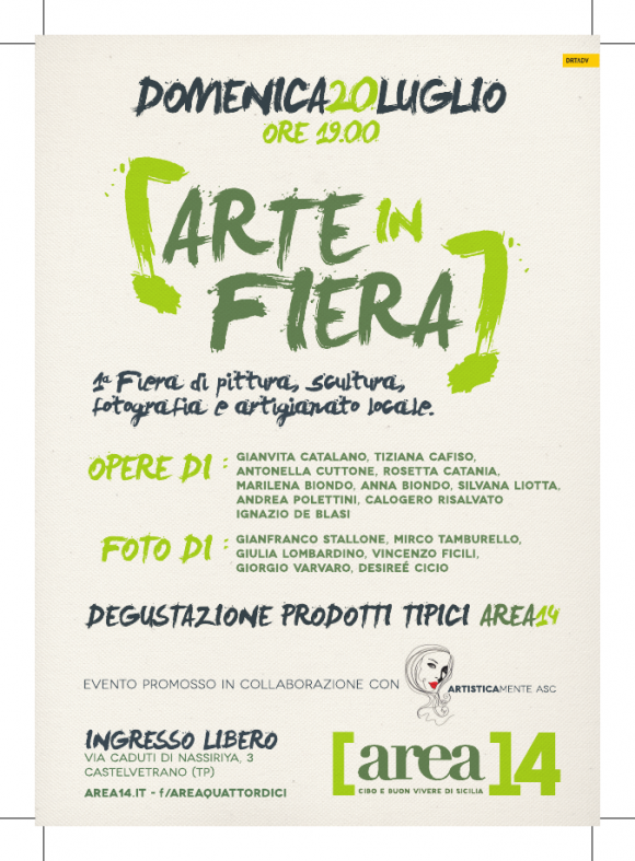 Are 14 locandina Arte in fiera