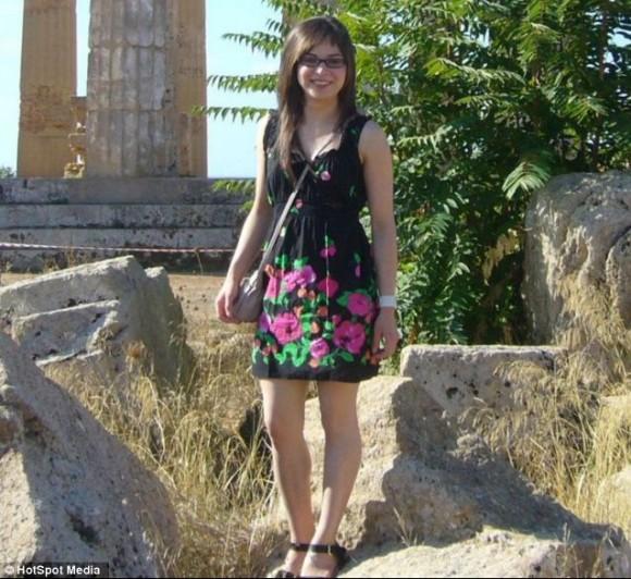 Carmen Spiridon al Parco di Selinunte