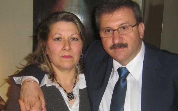 Girolamo Errante Parrino con la moglie