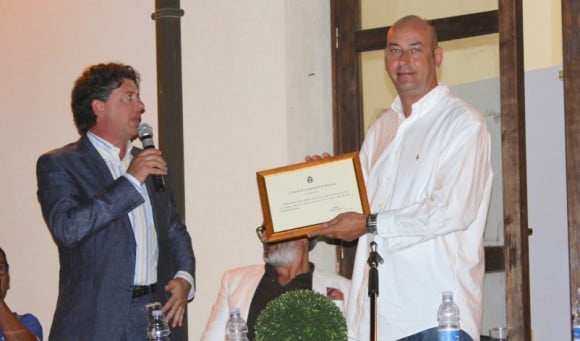 Giuseppe Castiglione con Gianluca Maria Calì