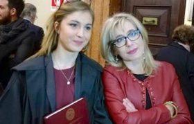 Giuseppina assieme a sua madre