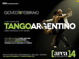 Locandina tango argentino
