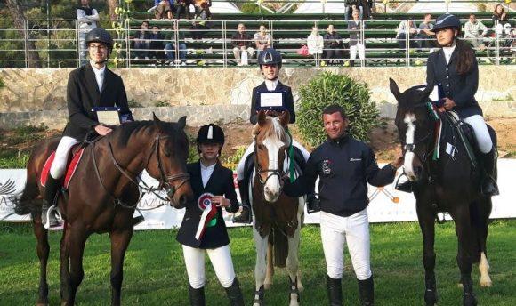 Medaglie per il team Equilandia di Castelvetrano 1