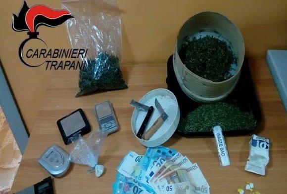 Mercatino della droga a Castelvetrano. Arrestato un uomo