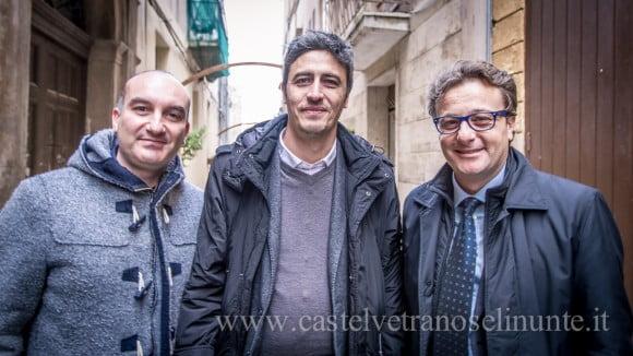 PIF a Castelvetrano per la presentazione del suo film, 2014