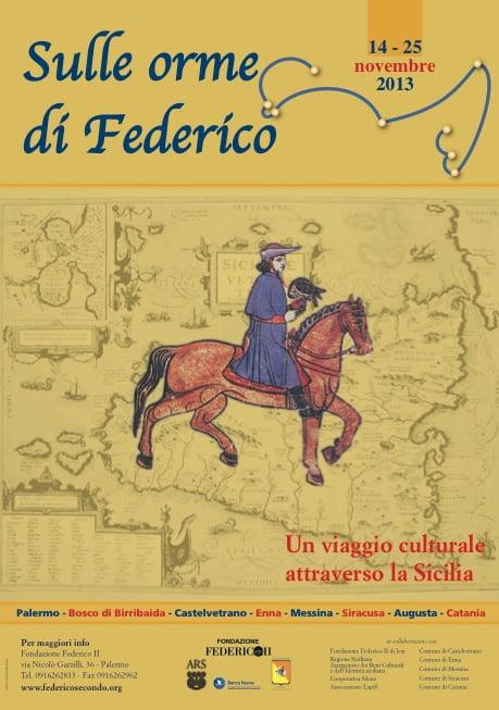 SULLE ORME DI FEDERICO 2