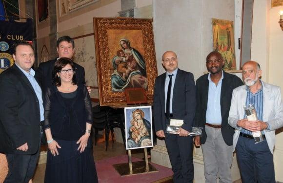 Tommaso La Croce quadro Madonna della Sanità 1