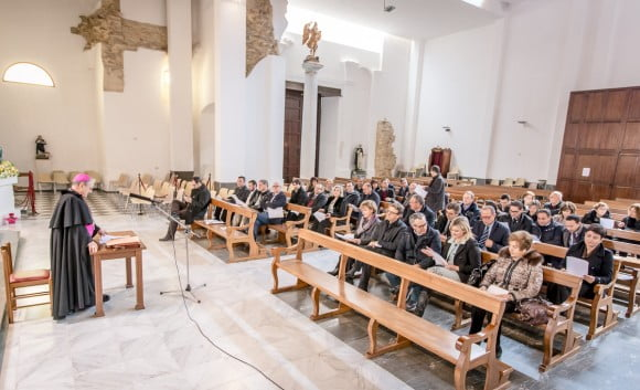 Vescovo Mogavero a Castelvetrano