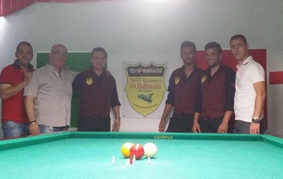 """associazione  sportiva """"New games & billiards"""", di Castelvetrano"""