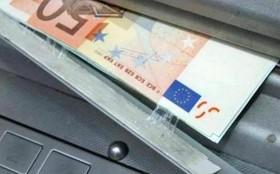 bancomat manomesso