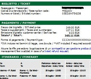 biglietto alitalia caro
