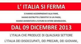 blocco italia 9 dicembre