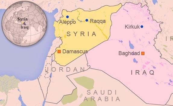 bombardamento raqqa francia