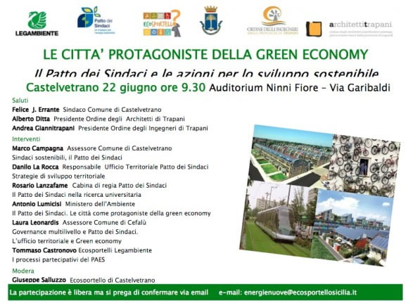 castelvetrano green economy