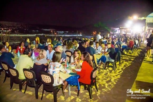 cena spiaggia la pineta 2