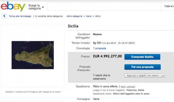 ebay sicilia vendita