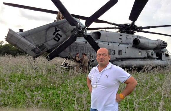 elicottero militare casamento