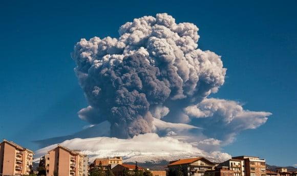 eruzione etna 23 novembre