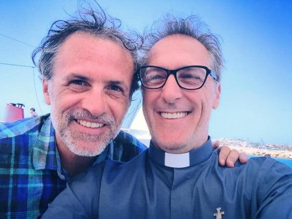 Fabrizio Ferracane con Marcello Mazzarella