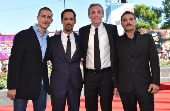 Giuseppe Fumo, Peppino Mazzotta, Fabrizio Ferracane and Marco Leonardi  |  ANSA/ETTORE FERRARI