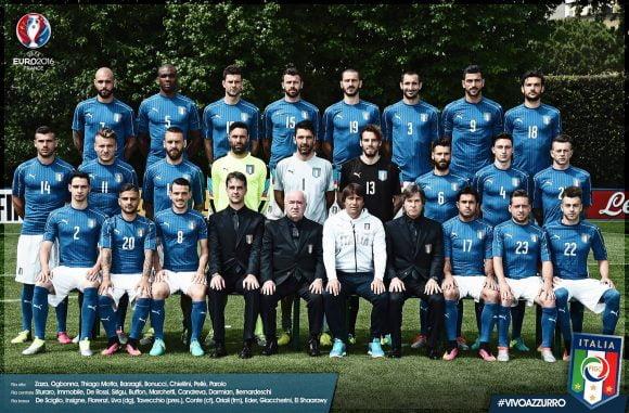 formazione azzurri nazionale europei