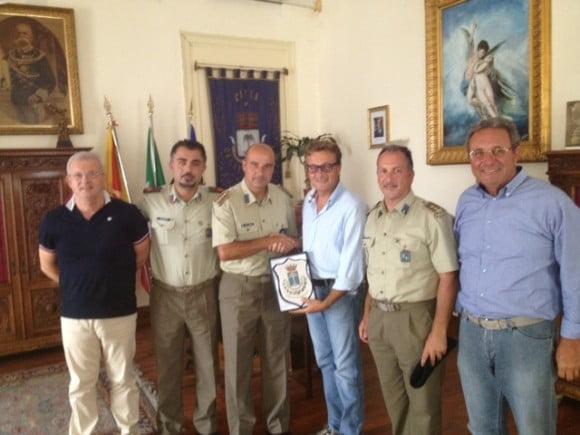 foto sindaco-colonnello Velardi