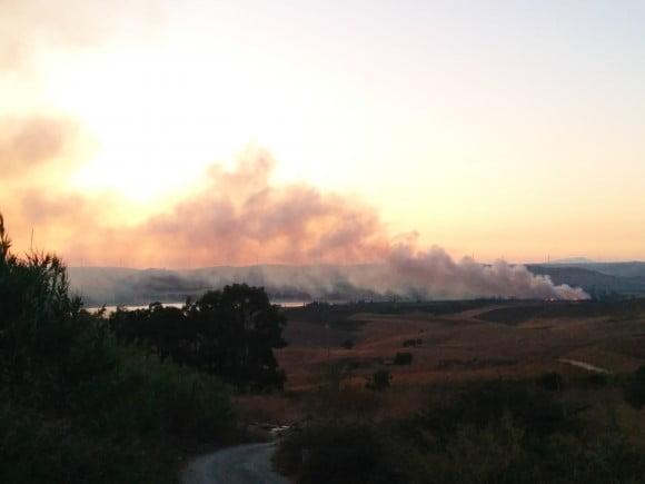 incendio diga delia