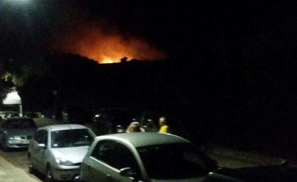 incendio parco selinunte 2