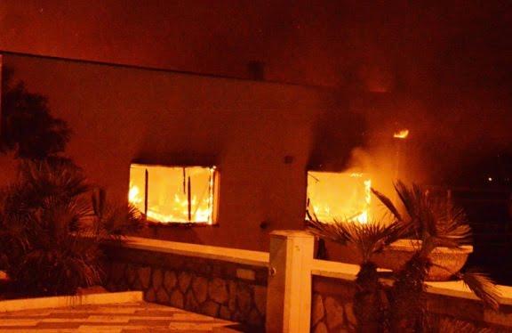 incendio tre fontane