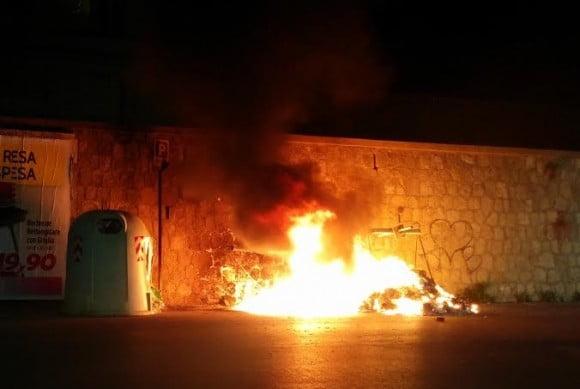 incendio viale roma 2