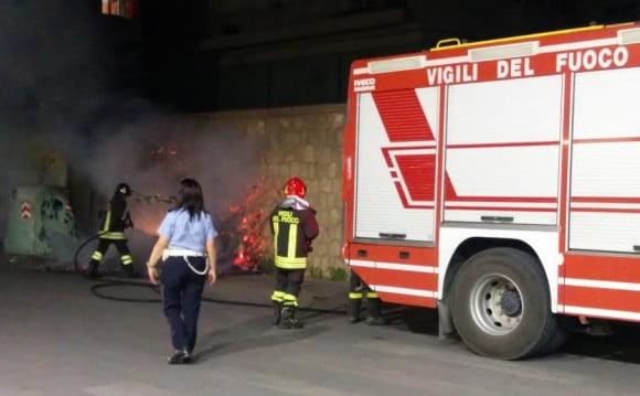 incendio viale roma