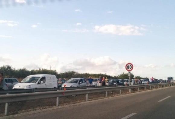 incidente castelvetrano A29
