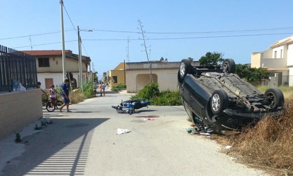 incidente tra fontane