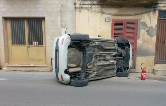 incidente via seggio 3