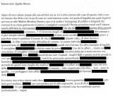 lettera anonima egidio morici