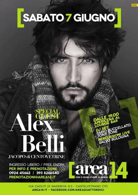locandina Alex Belli