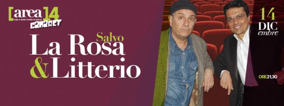 locandina Salvo La Rosa e Litterio