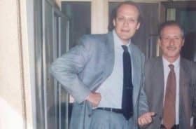 Massimo Russo con Paolo Borsellino (foto. lavocedinewyork.com)