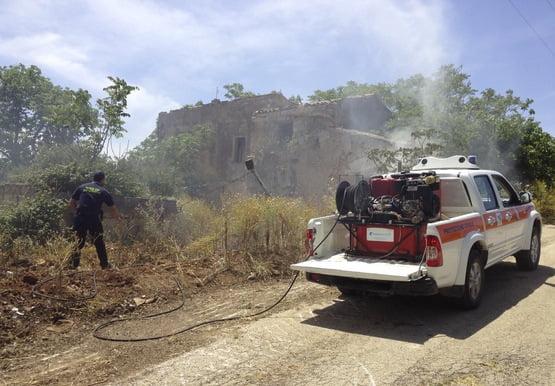 mezzo antincendio castelvetrano