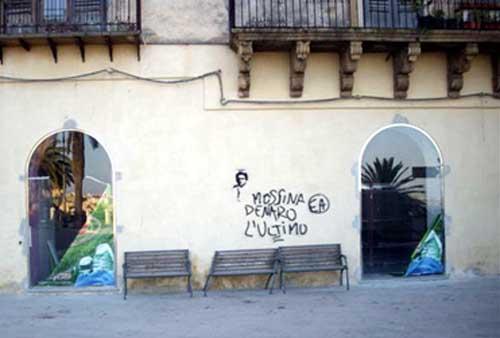 Messina Denaro - Murales Sciacca