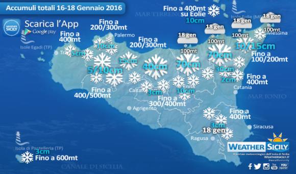 neve sicilia