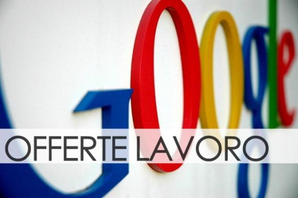 Offerte di lavoro google italia a roma e milano for Offerte lavoro arredamento milano
