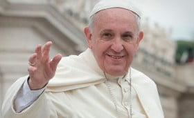 papa francesco Jeffrey Bruno from New York City