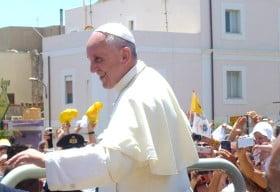 papa francesco campobello di mazara