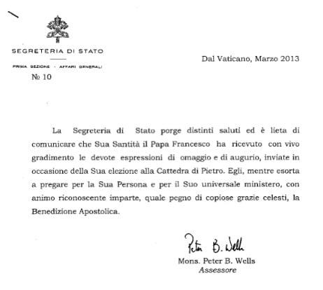 papa sindaco errante