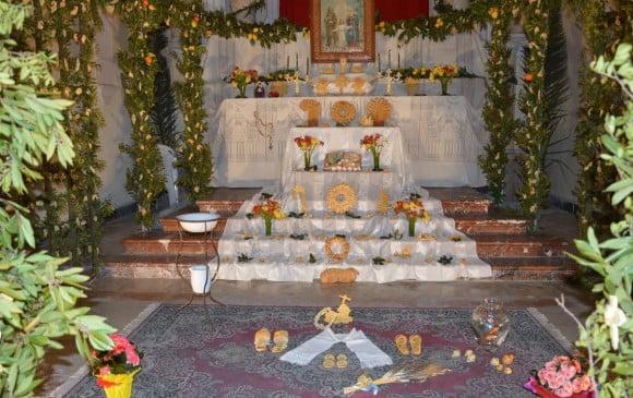 percorso altari san giuseppe