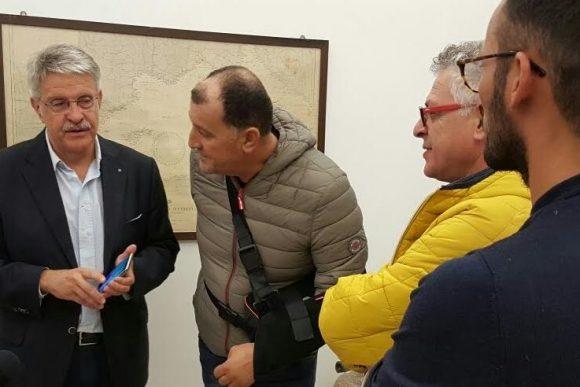 Da sx Giovanni Tumbiolo, Domenico Asaro, Luciano Giacalone, Michele Asaro